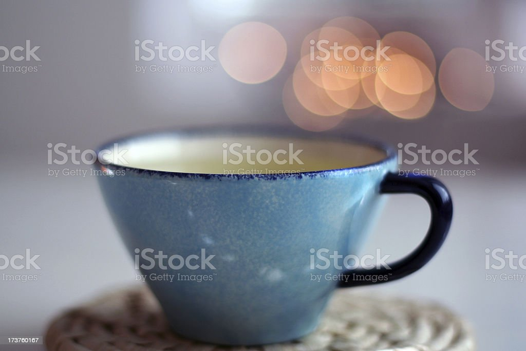 Green Tea Time royalty-free stock photo