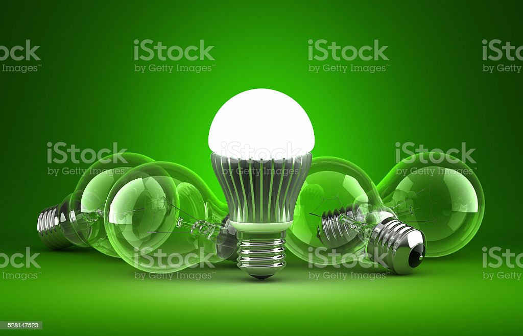 Green Technology stock photo