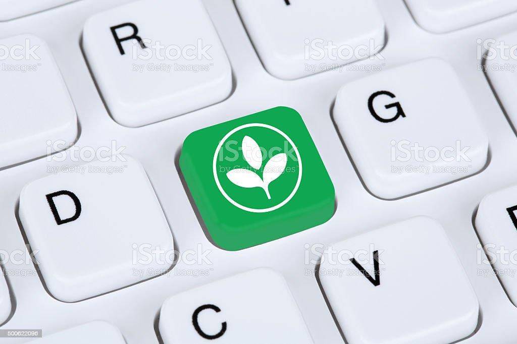 Green technology tech environmentally friendly nature environment stock photo