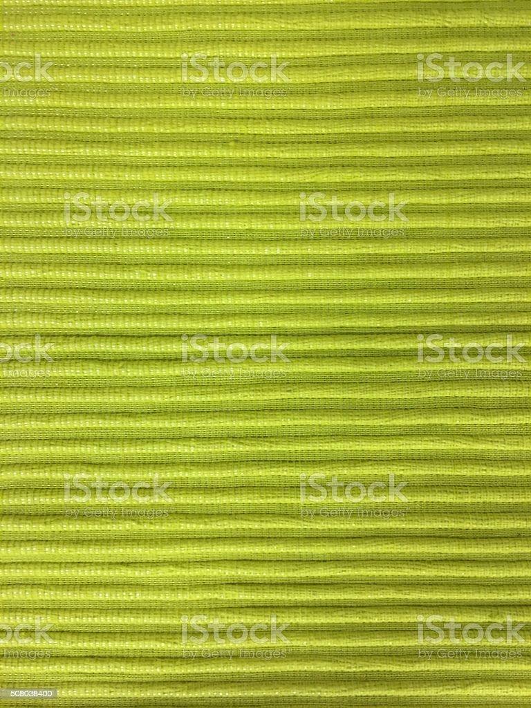Green textile background stock photo