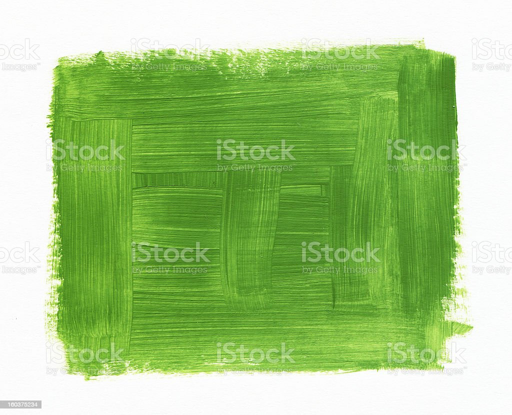 green textured Abstract Paint stock photo