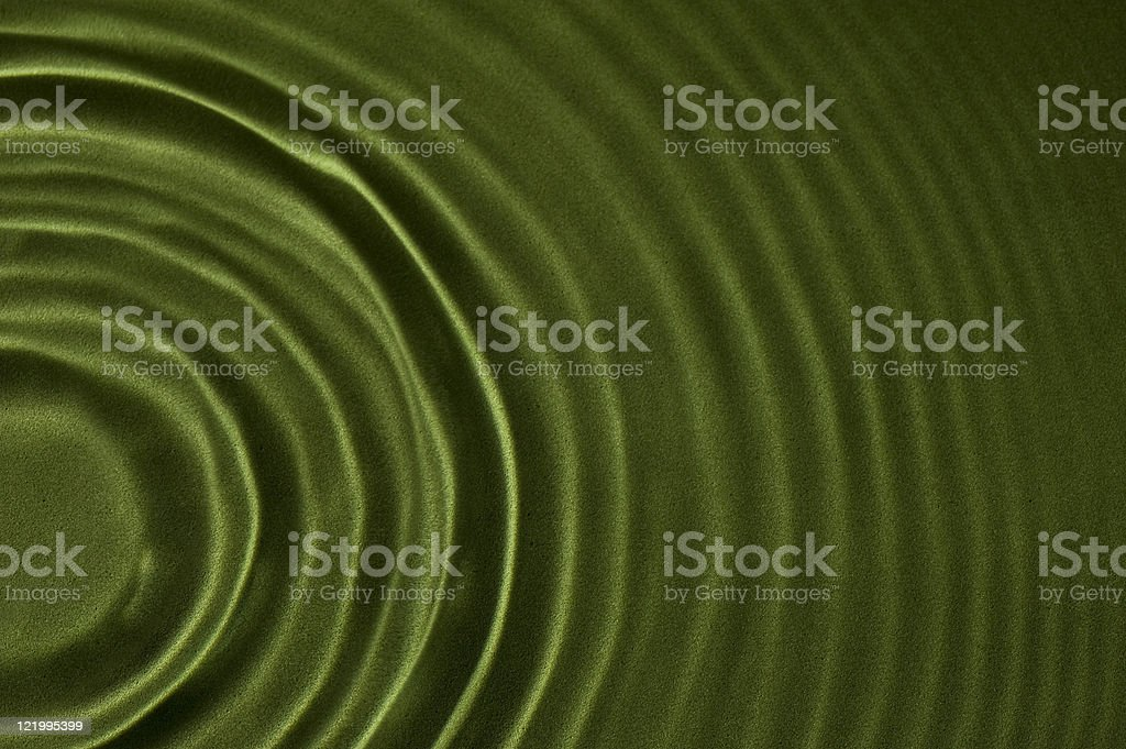Green Textured Ripple Background 1 royalty-free stock photo