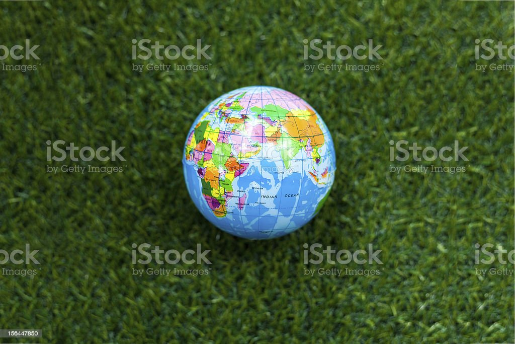 Green the world royalty-free stock photo