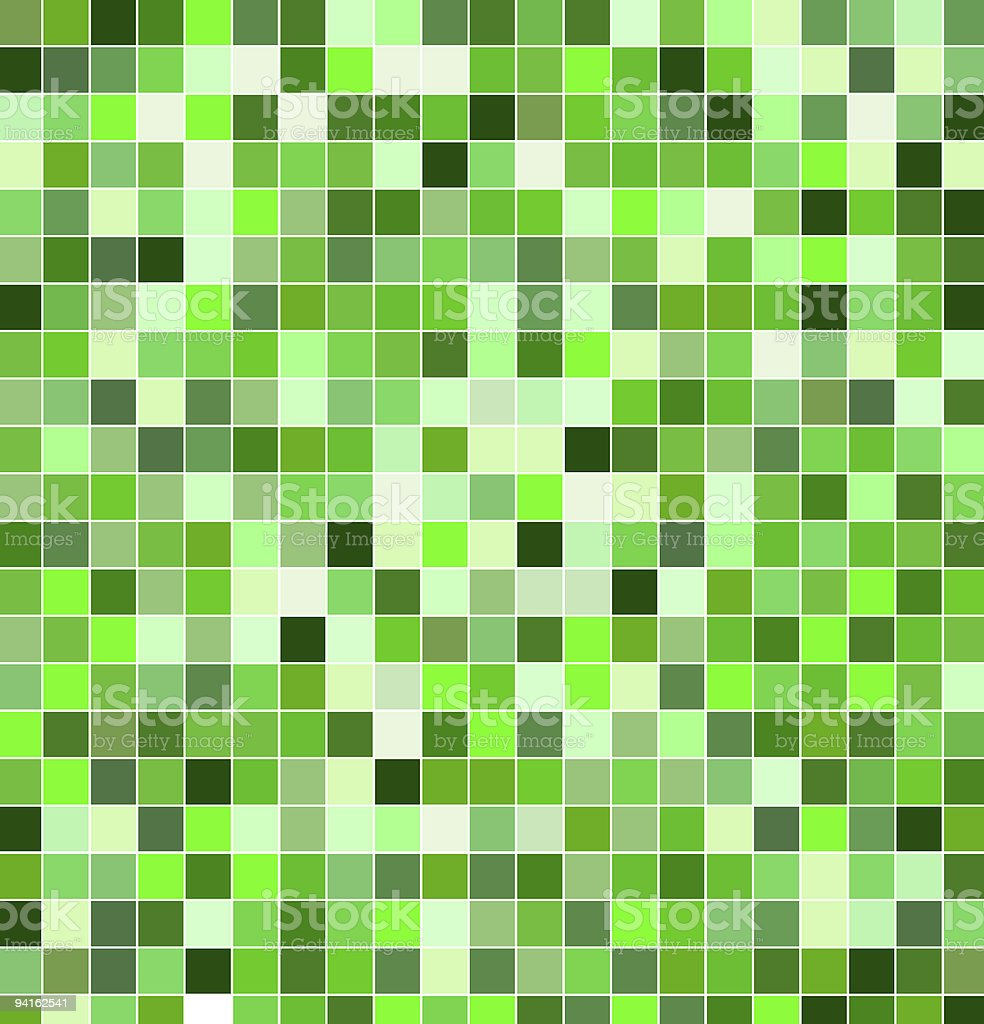 Green tile background stock photo