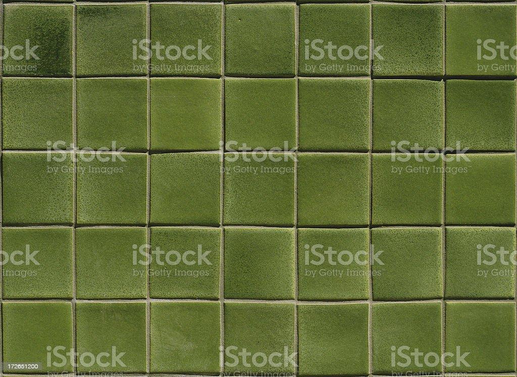 Green Tile royalty-free stock photo