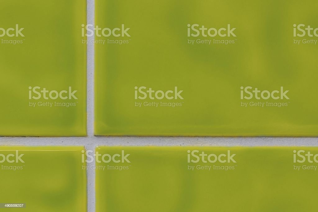 Green tiles royalty-free stock photo