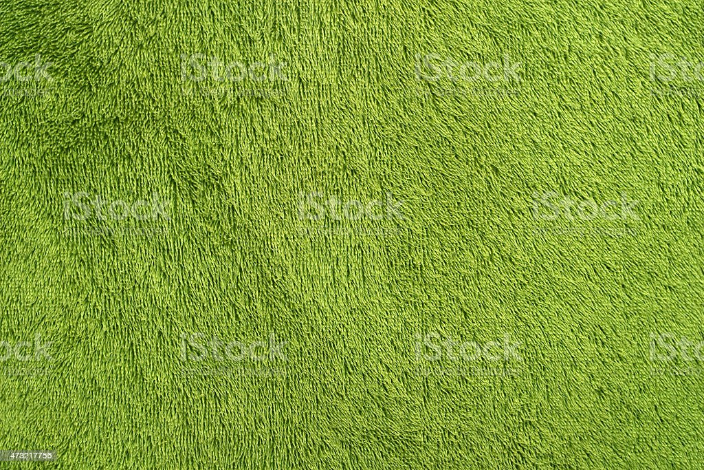 Green Towel Background stock photo