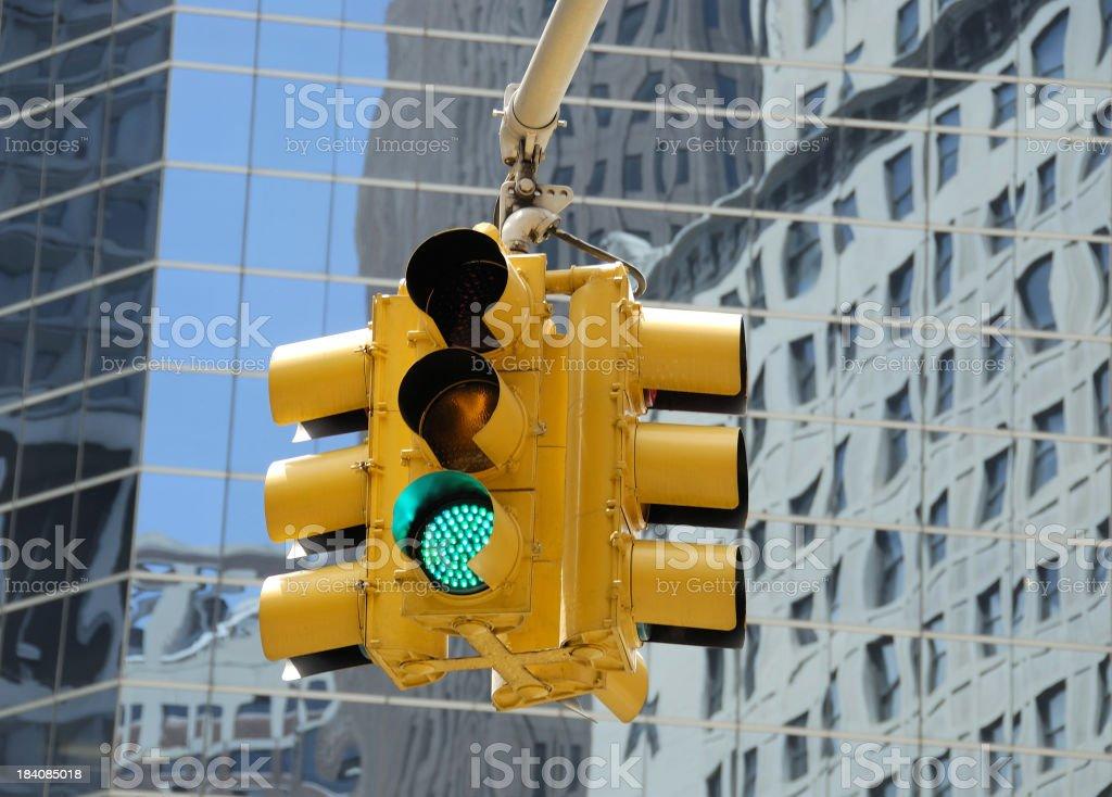 Green Traffic Signal stock photo