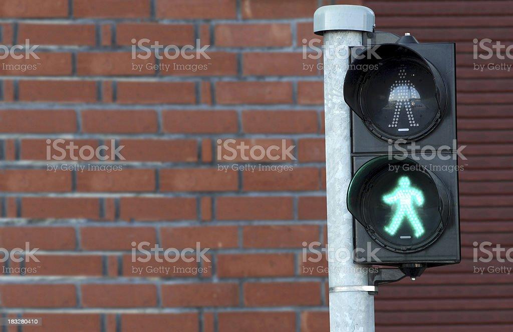 Green Traficc Light stock photo