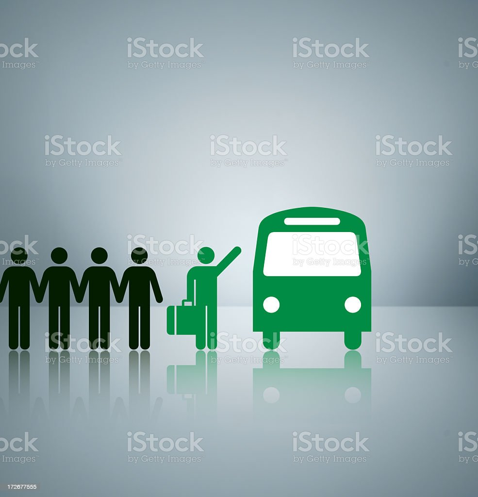 Green Transport royalty-free stock photo