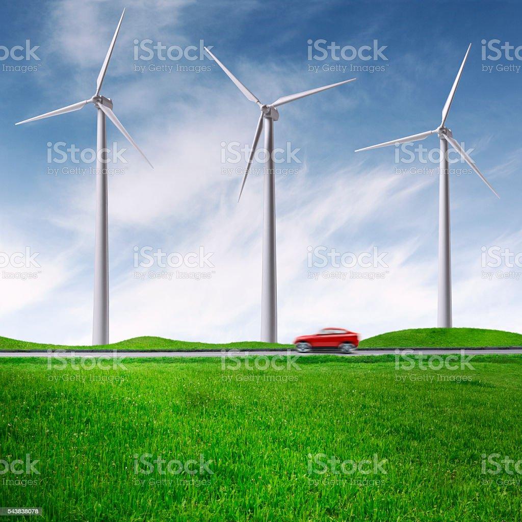 Green Transportation stock photo