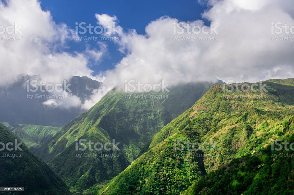 Green Valley stock photo