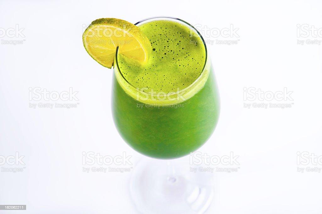 Green Vegetable Juice royalty-free stock photo