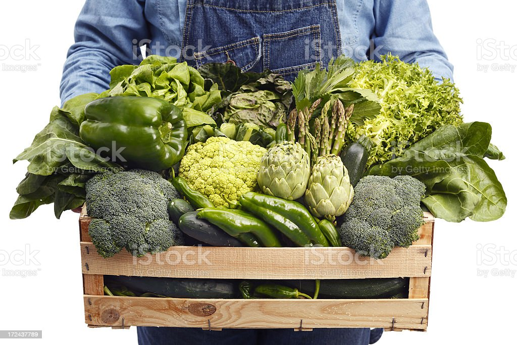 Green vegetables royalty-free stock photo