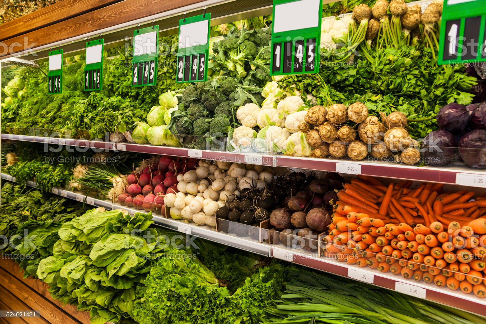 Zielone warzyw zbiór zdjęć royalty-free