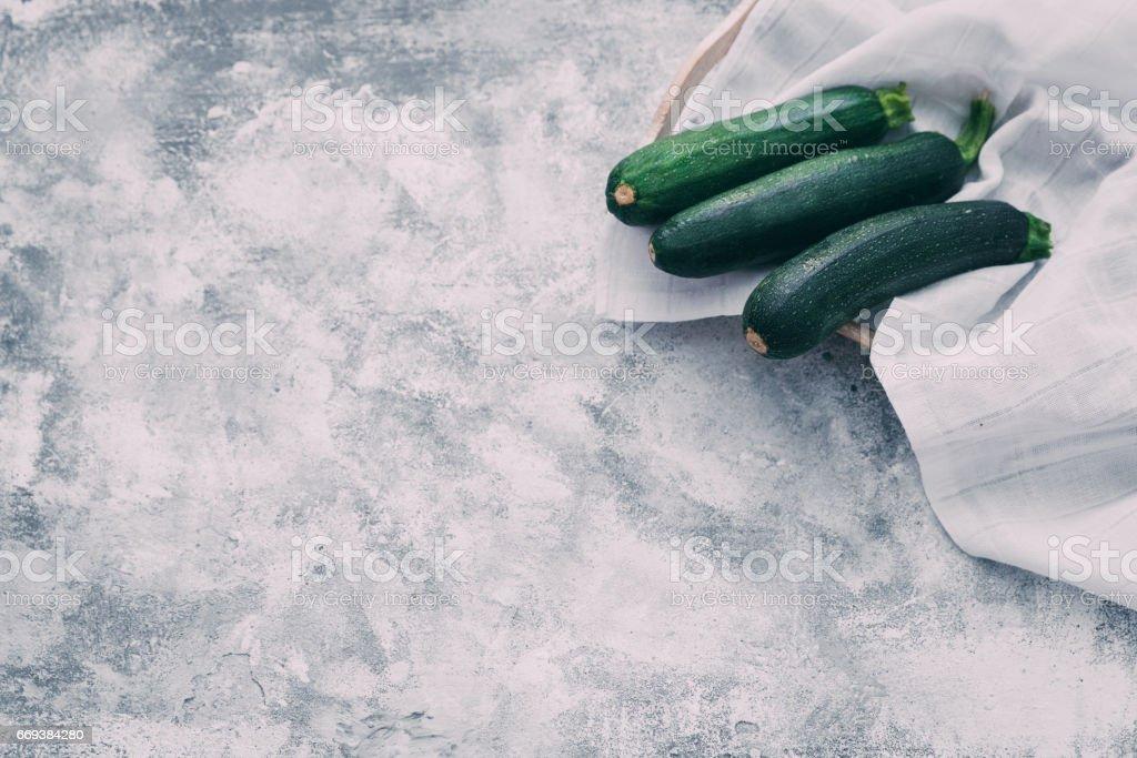 Green vegetables stock photo