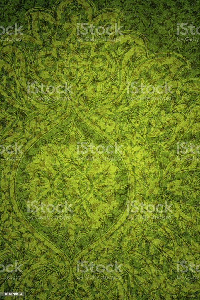 Green Vintage Abstract Background royalty-free stock photo