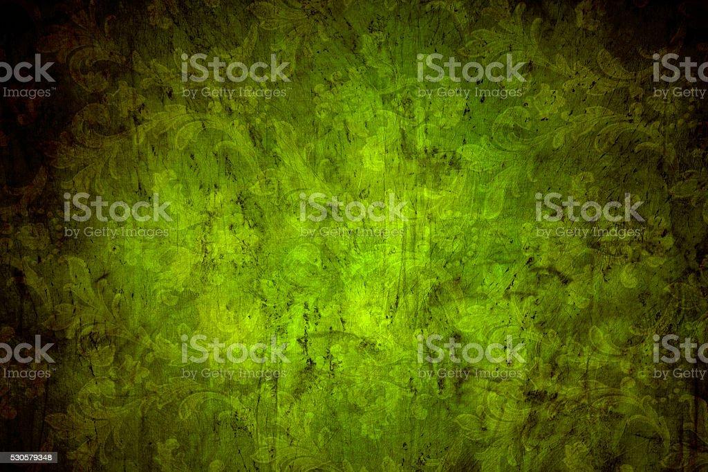 Green Vintage Background stock photo