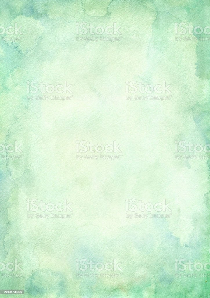 green vintage paper stock photo