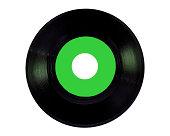 green vinyl 45 rpm