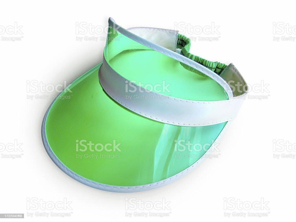 Green Visor stock photo