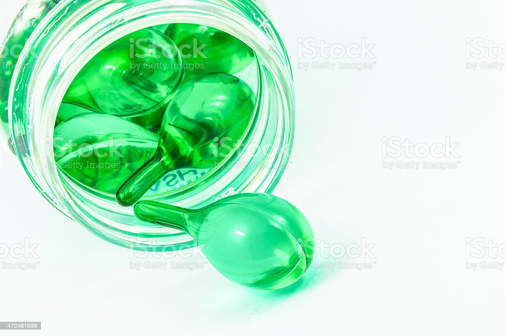 green Vitaminen Lizenzfreies stock-foto