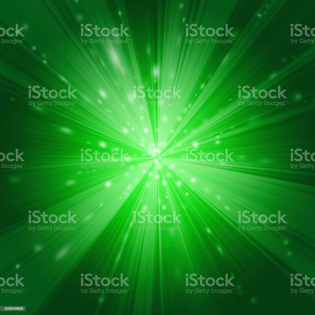 Green Warp stock photo