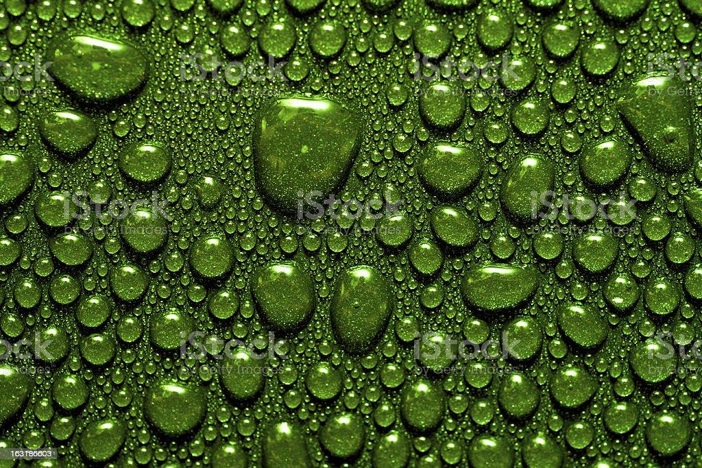 녹색 저수시설 비눗방울 royalty-free 스톡 사진