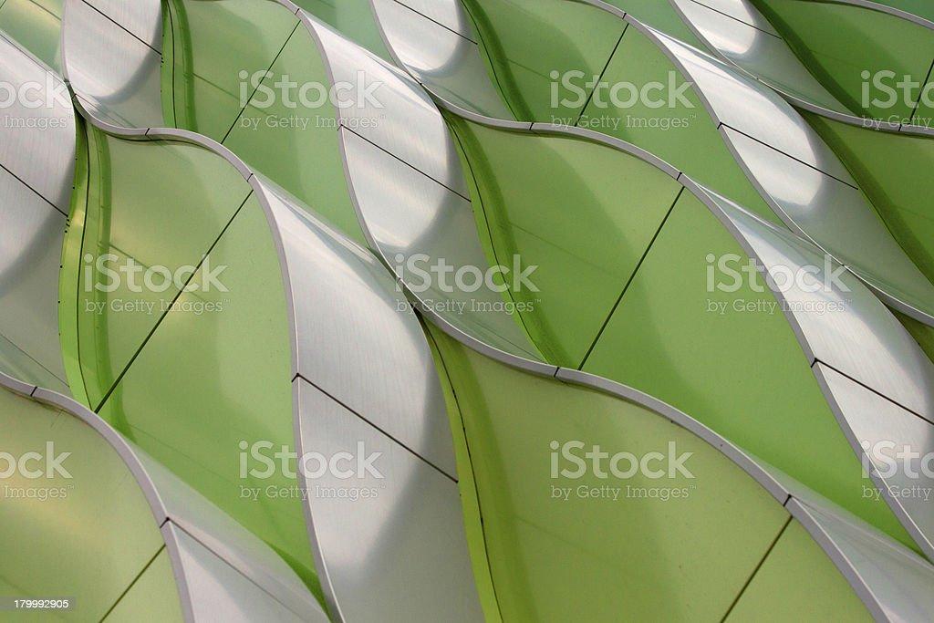 Grüne Wellen Lizenzfreies stock-foto