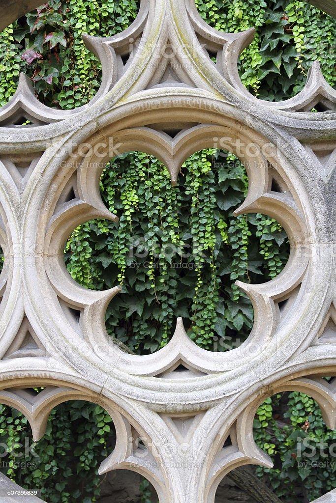 Green Window stock photo