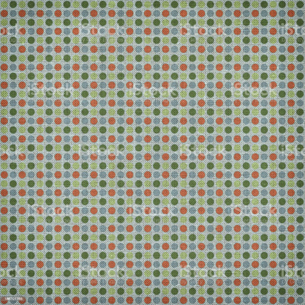 Green with Orange Dots royalty-free stock photo