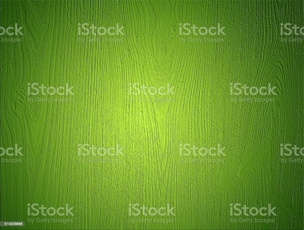 Green Wood Background stock photo
