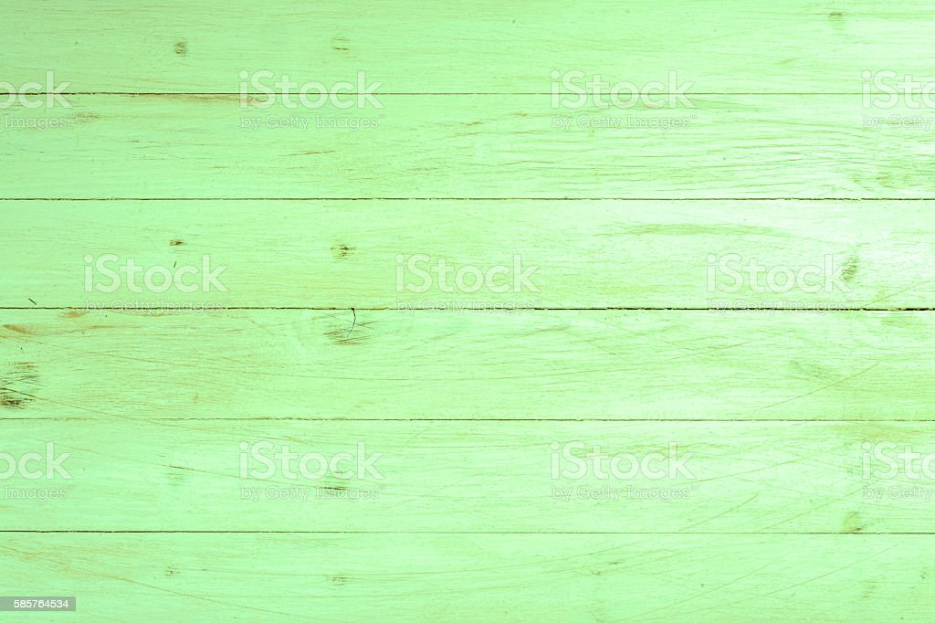Green wood texture background stock photo