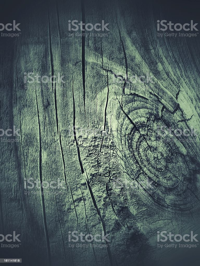 Green wood texture royalty-free stock photo