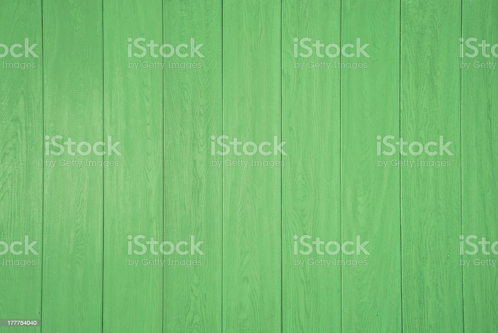 Green wooden panel background royalty-free stock photo