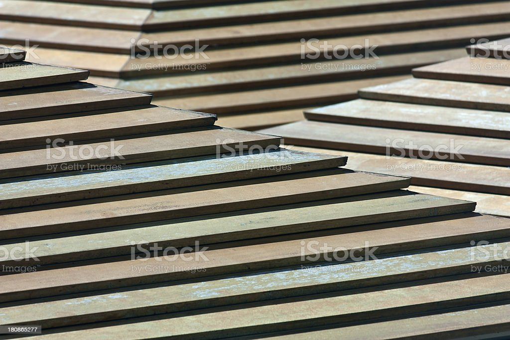 green wooden pattern, creative abstract design background photo royalty-free stock photo