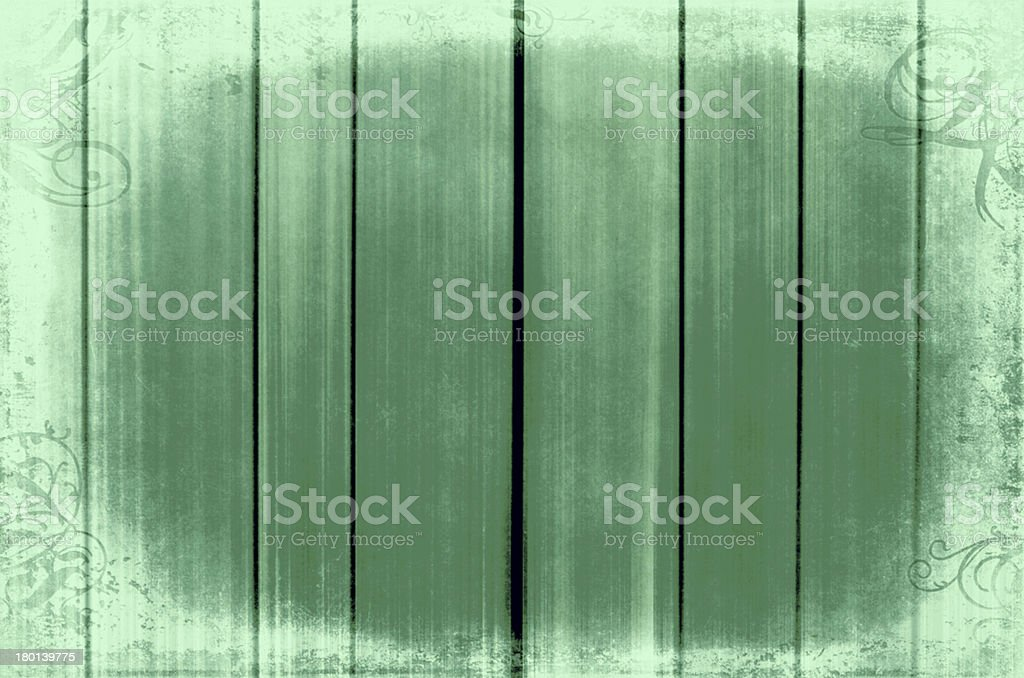 Green wooden retro background royalty-free stock photo
