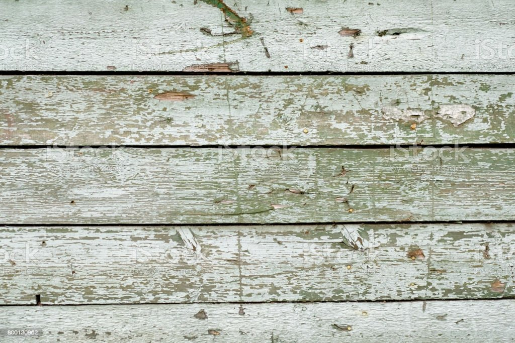 Green wooden texture as background stock photo