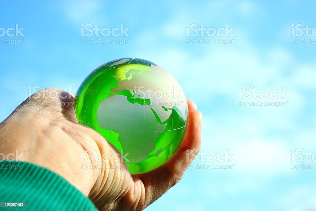 Green world royalty-free stock photo
