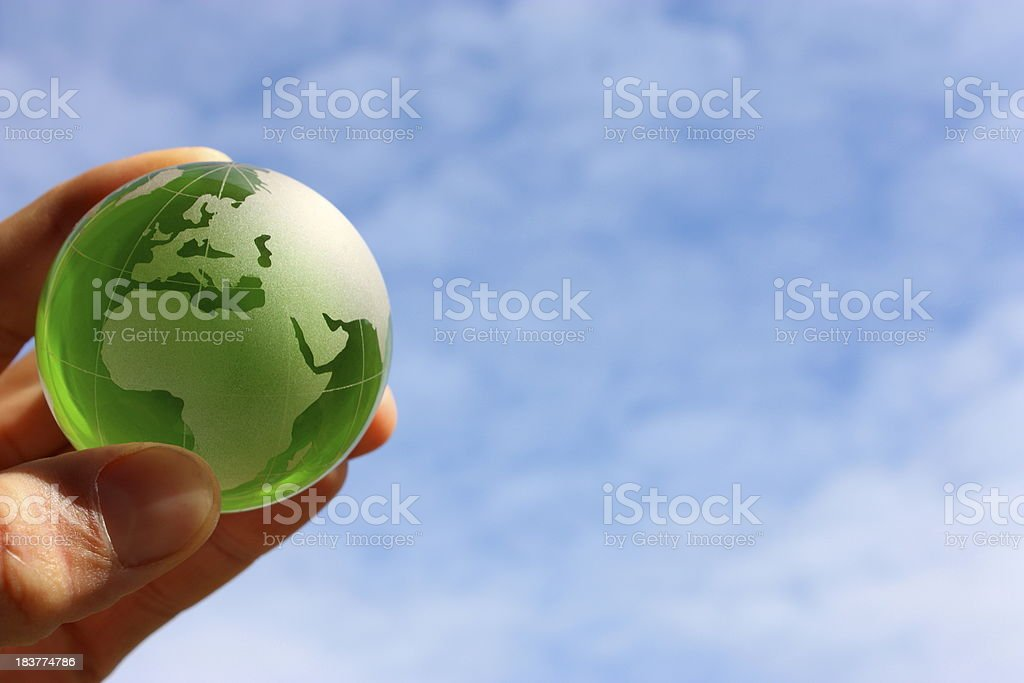 Green world royalty-free stock photo