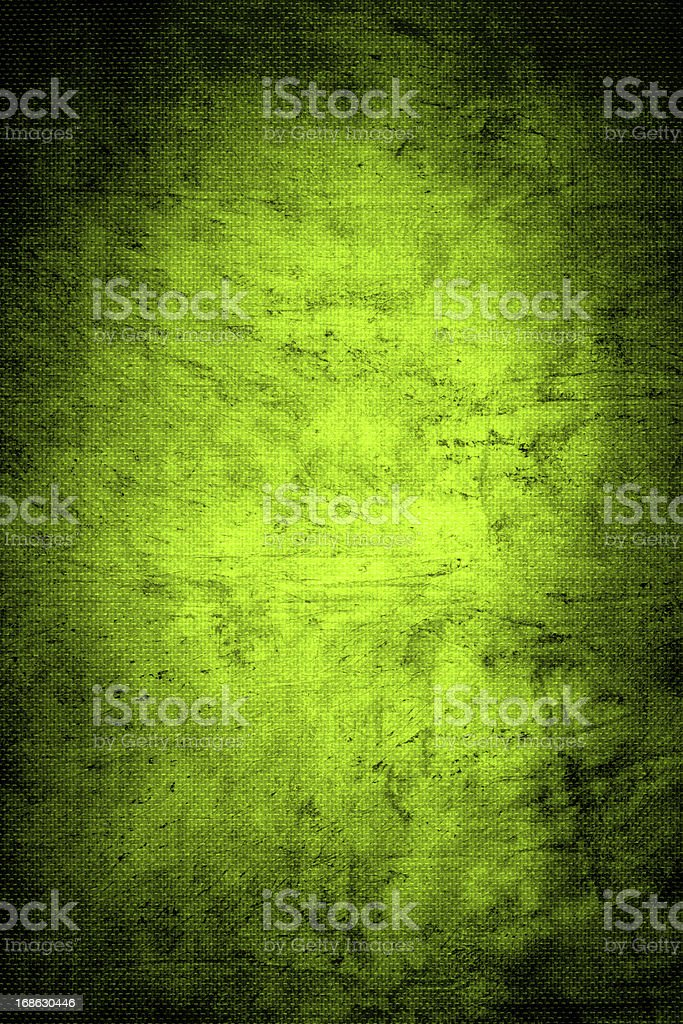 Green Woven Canvas Background stock photo