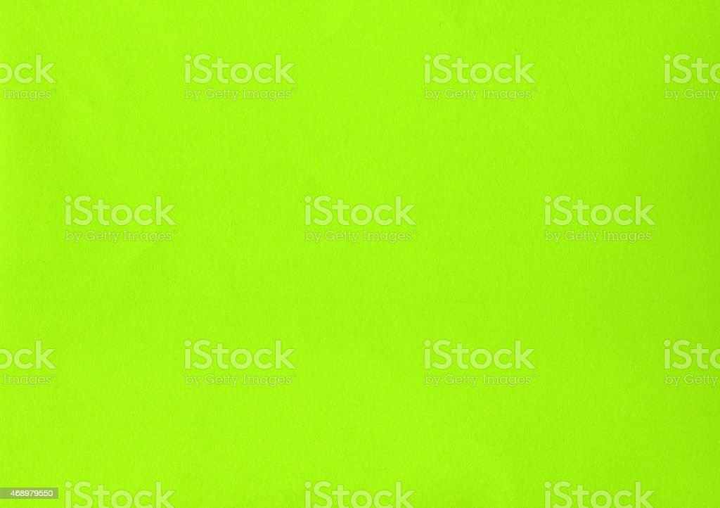 Green yellow color paper stock photo