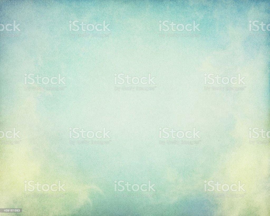 Green Yellow Fog stock photo