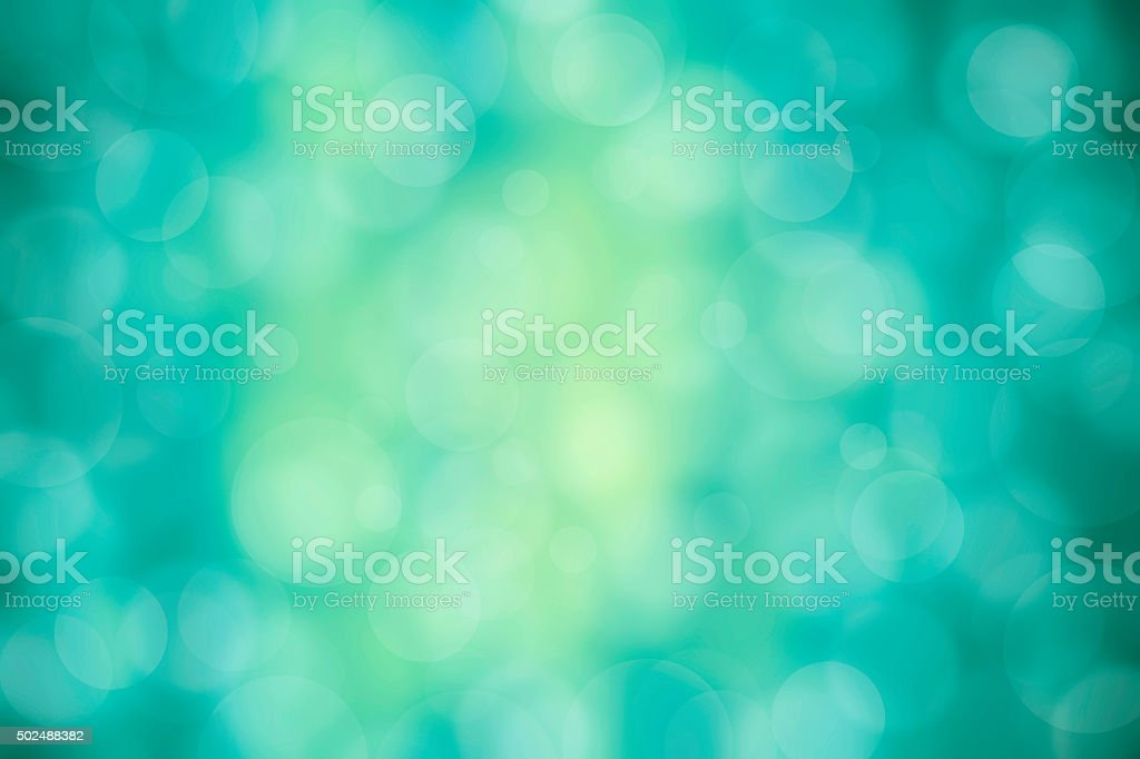 Green-Blue defocused background stock photo
