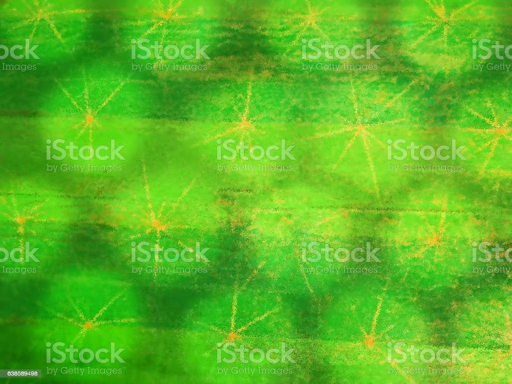 Greenery background. Sacred geometry. stock photo