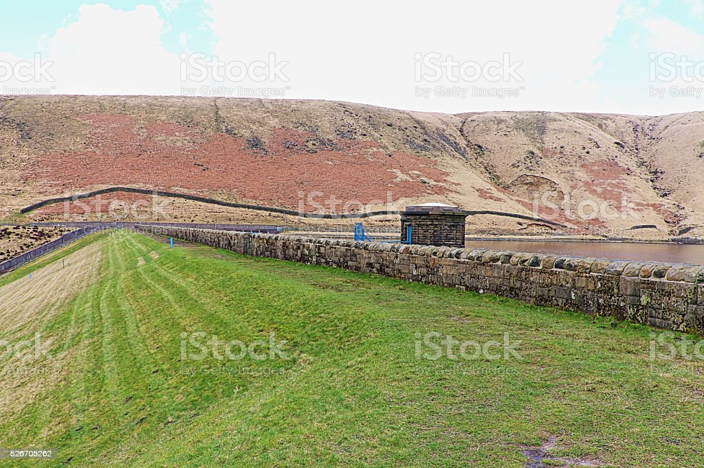 Greenfield Dam, Saddleworth, England, United Kingdom stock photo