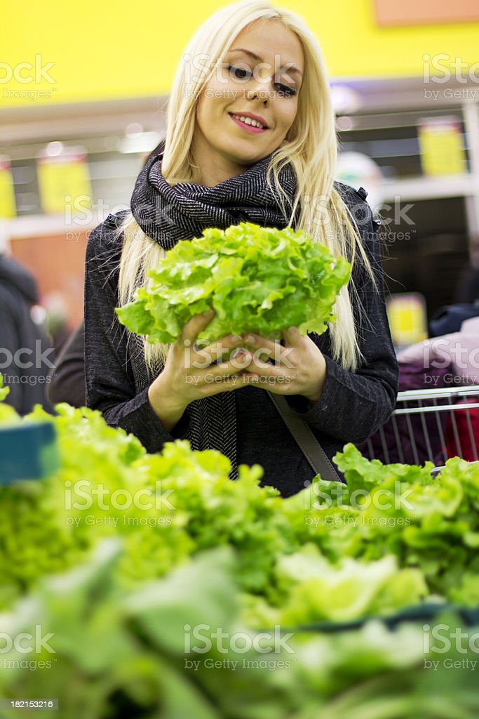 Greengrocer Shop royalty-free stock photo