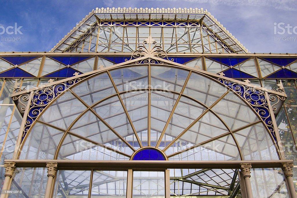 Greenhouse Closeup royalty-free stock photo