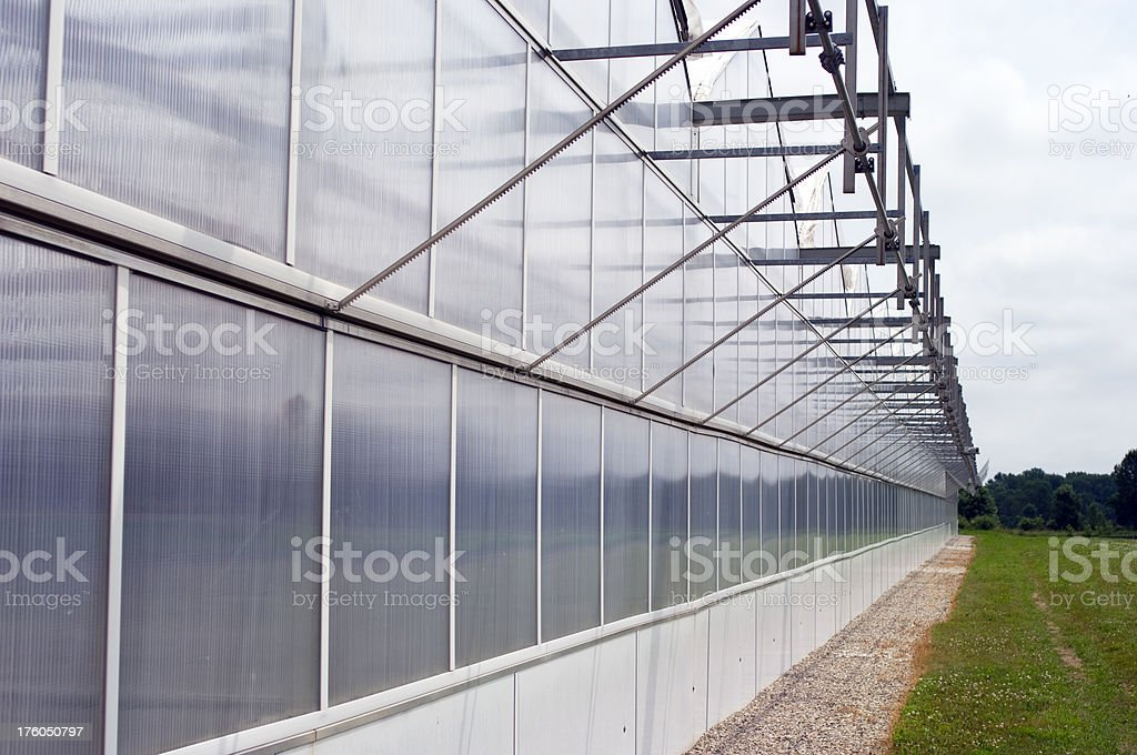 Greenhouse Wall royalty-free stock photo