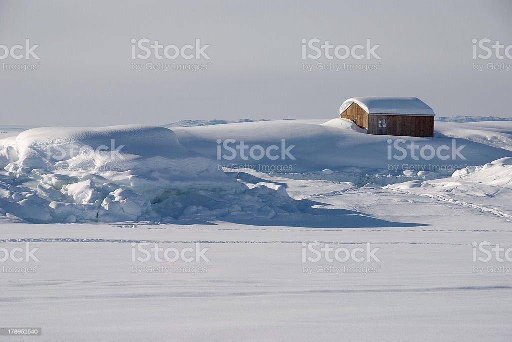 Greenland's house royalty-free stock photo